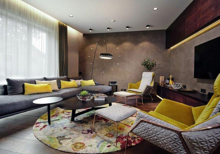 colores vibrantes salon diseno lineoffice architecture ideas