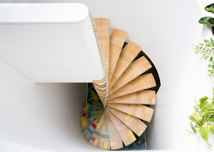 colorida muestra interiores sistema paleta