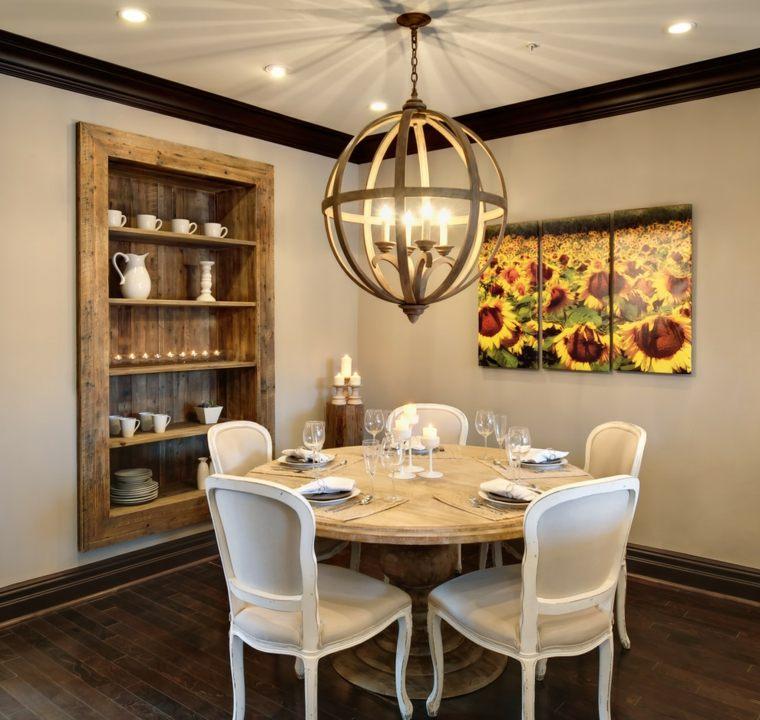 Obras de arte para decorar el comedor 24 fotos inspiradoras - Decorar el comedor ...