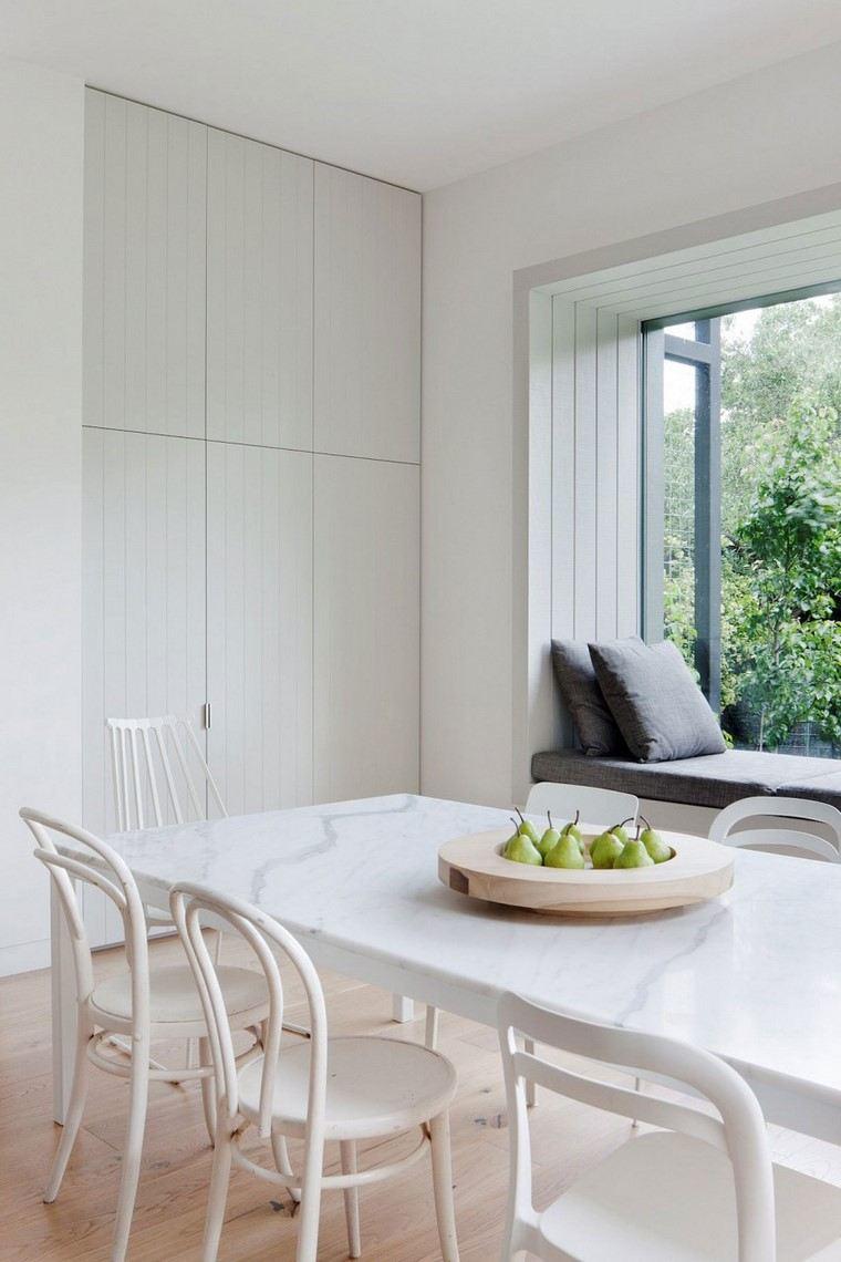 comedores blancos diseno robson rak architects ideas
