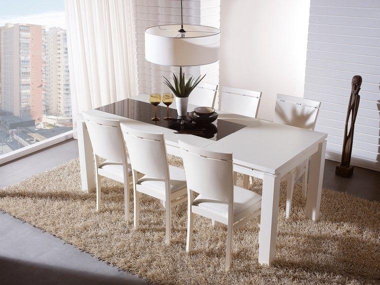 comedores blancos muebles color blanco precioso ideas