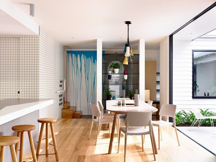 comedores cocinas blanco techn architecture interior design ideas