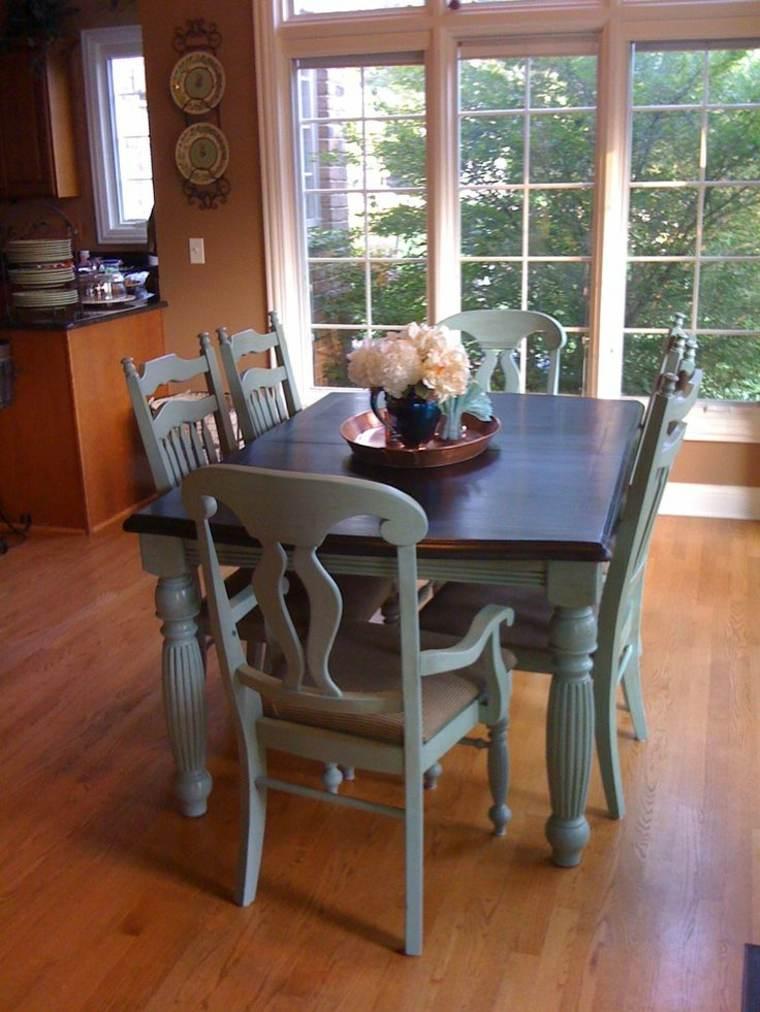 Cocinas baratas ideas para muebles de cocina baratos for Sillas azules comedor
