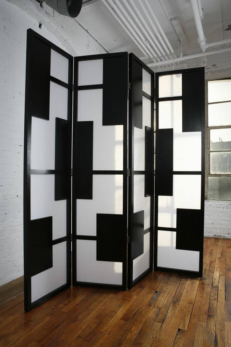 contrate negro blanco geometrico suelos