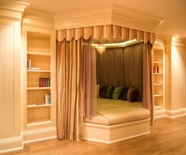 cortinas aislamiento espacios exteriores acogedor