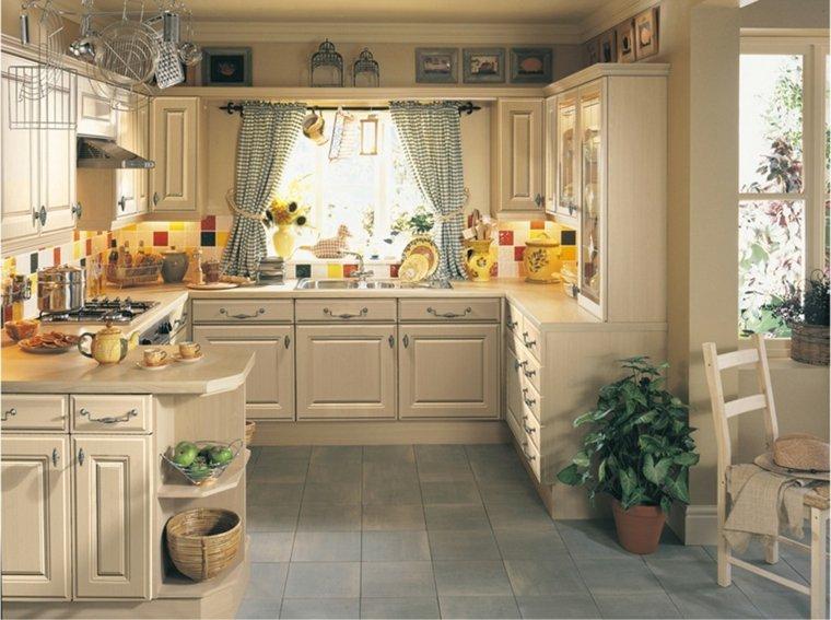 cortinas de cocina diseno interior diseno provenzal ideas
