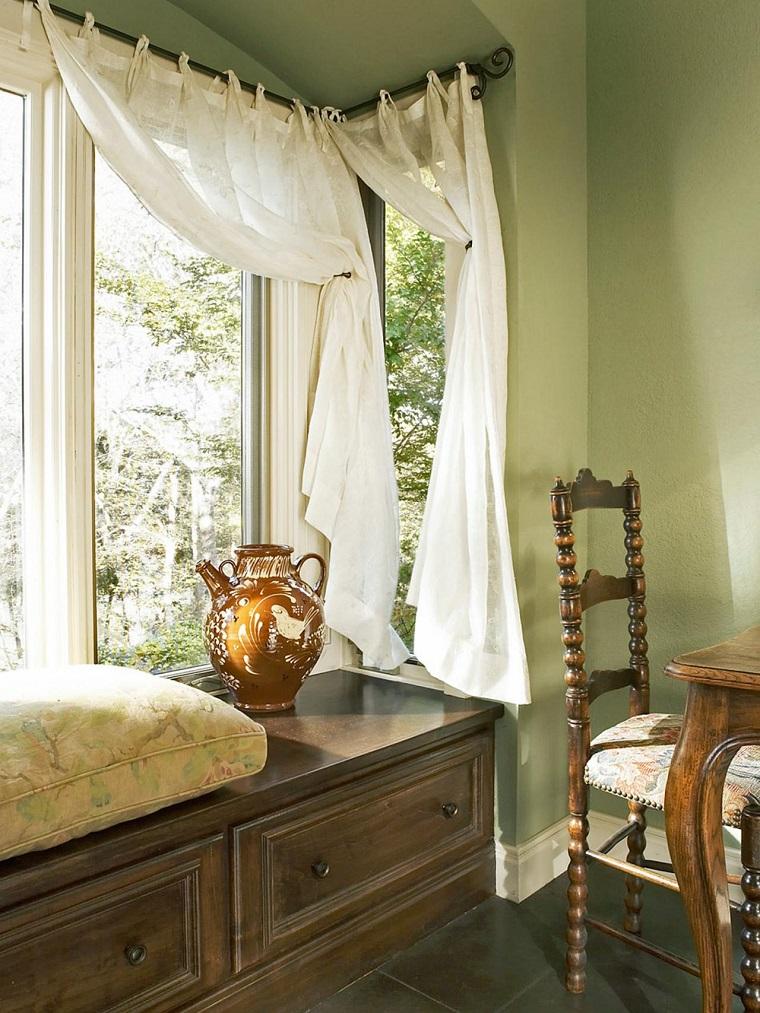 cortinas de cocina estilo frances opciones interior ideas