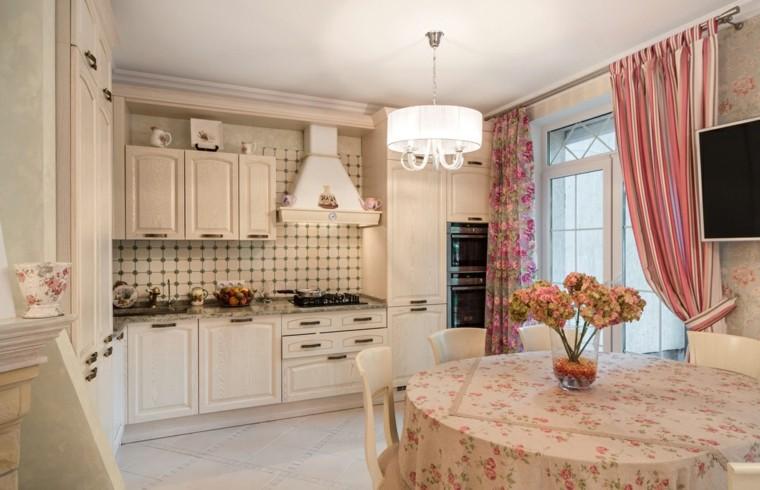Cortinas de cocina y estores para enriquecer el dise o for Cortinas estilo clasico