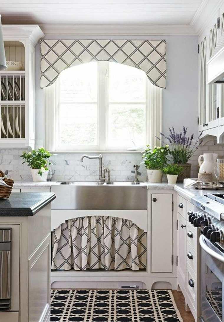 Cortinas de cocina y estores para enriquecer el dise o for Diseno de muebles para cocina