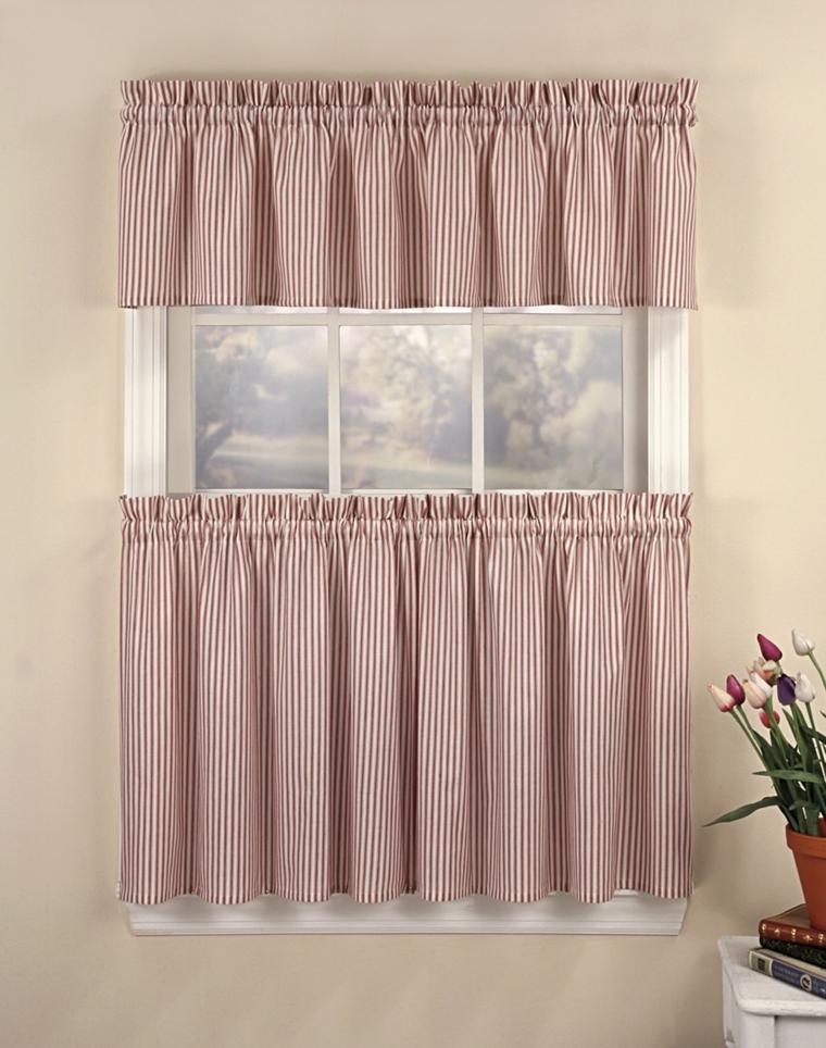 Cortinas de cocina y estores para enriquecer el dise o - Estor con cortina ...