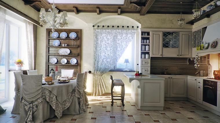cortinas de cocina transparente estampa opciones diseno ideas