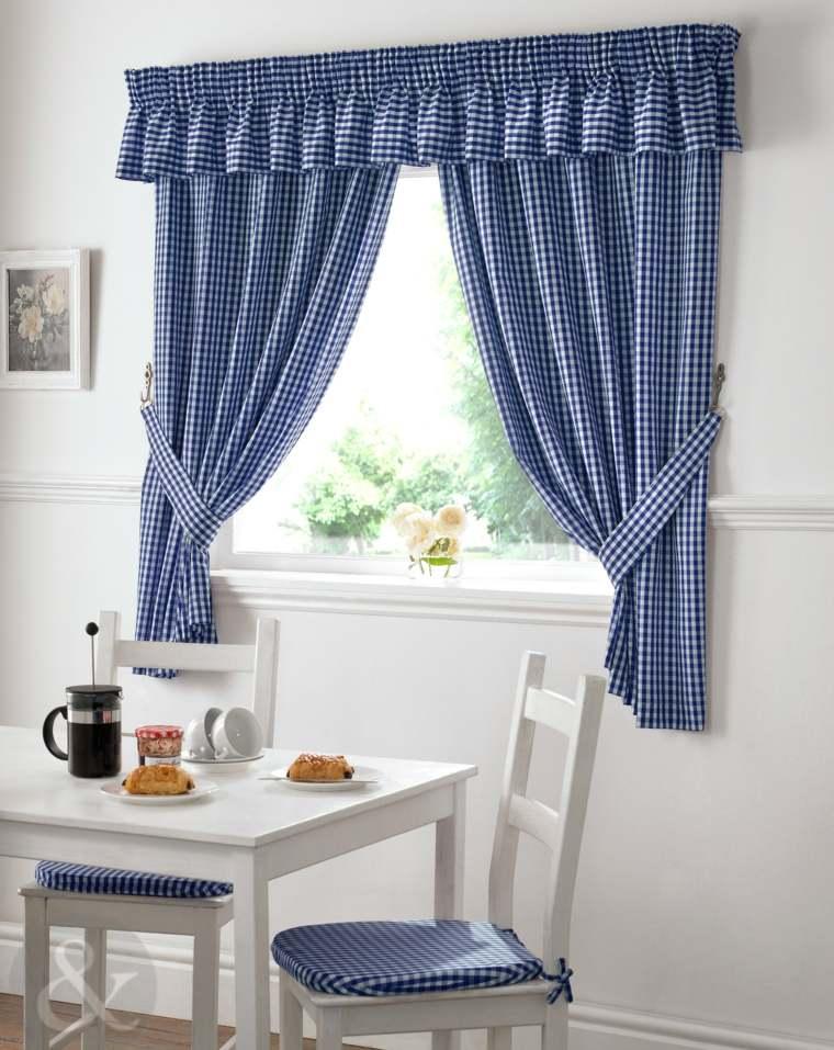 Cortinas para la cocina para decorar vuestros interiores - Cortinas de interior ...