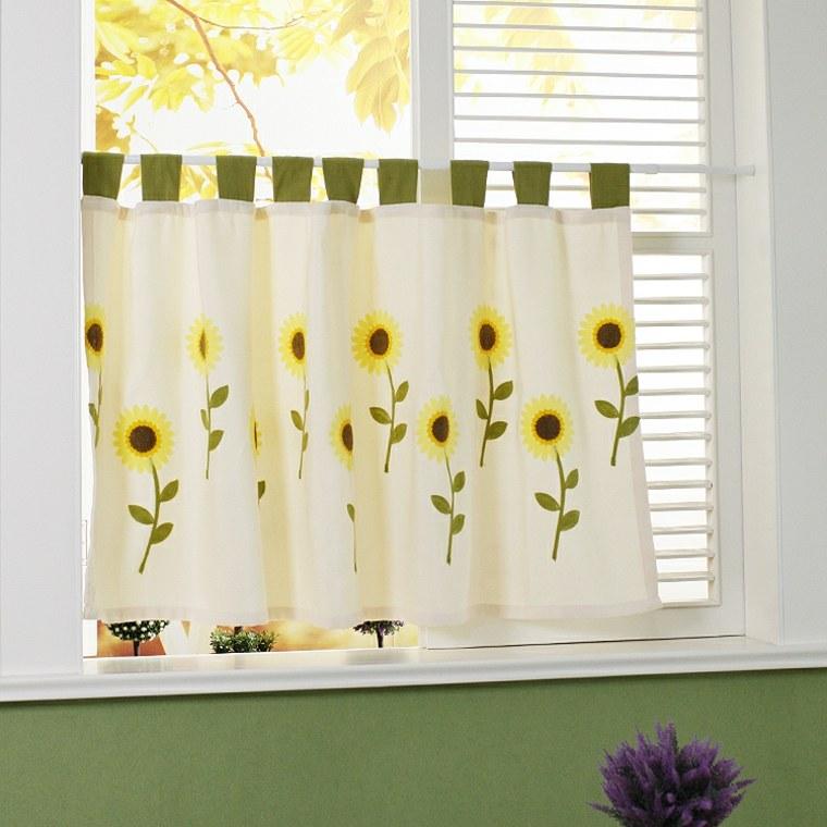 Cortinas de cocina y estores para enriquecer el dise o for Modelos cortinas cocina