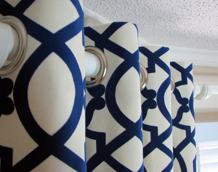 bonitas cortinas con patrones