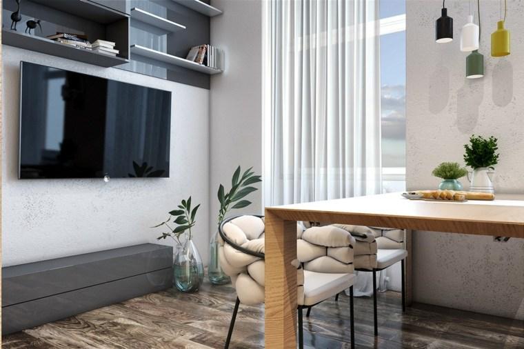 Cortinas modernas y c mo seleccionar la m s adecuada - Diseno cortinas modernas ...