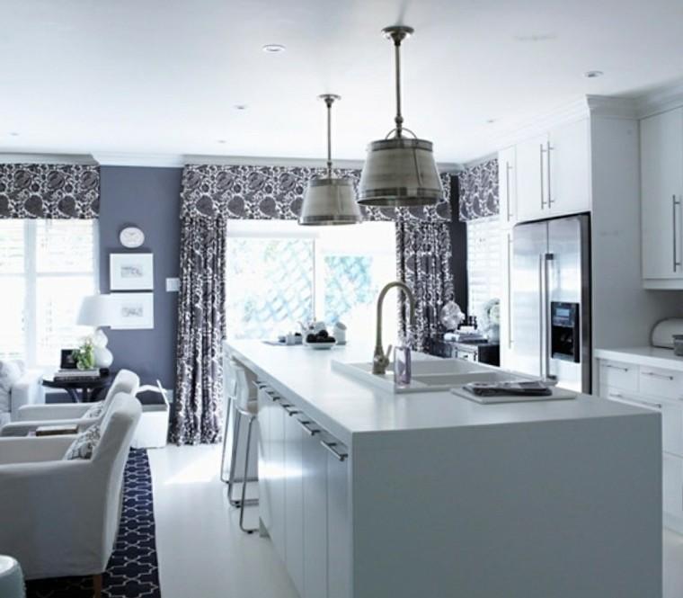 Cortinas para la cocina para decorar vuestros interiores - Cortinas cocinas modernas ...