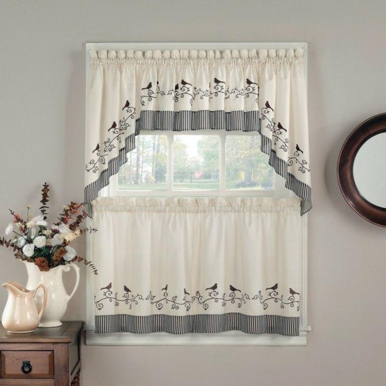 Cortinas para la cocina para decorar vuestros interiores - Ver cortinas para cocina ...