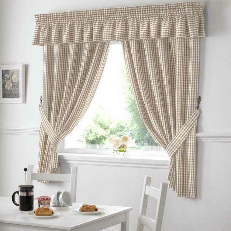 cortinas para la cocina decoracin interior