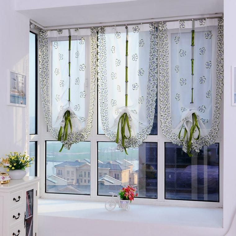 cortinas para la cocina interiores