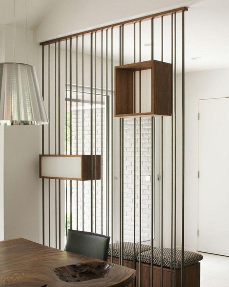 Separador de ambientes para personalizar los interiores - Cortinas separadoras de ambientes ...