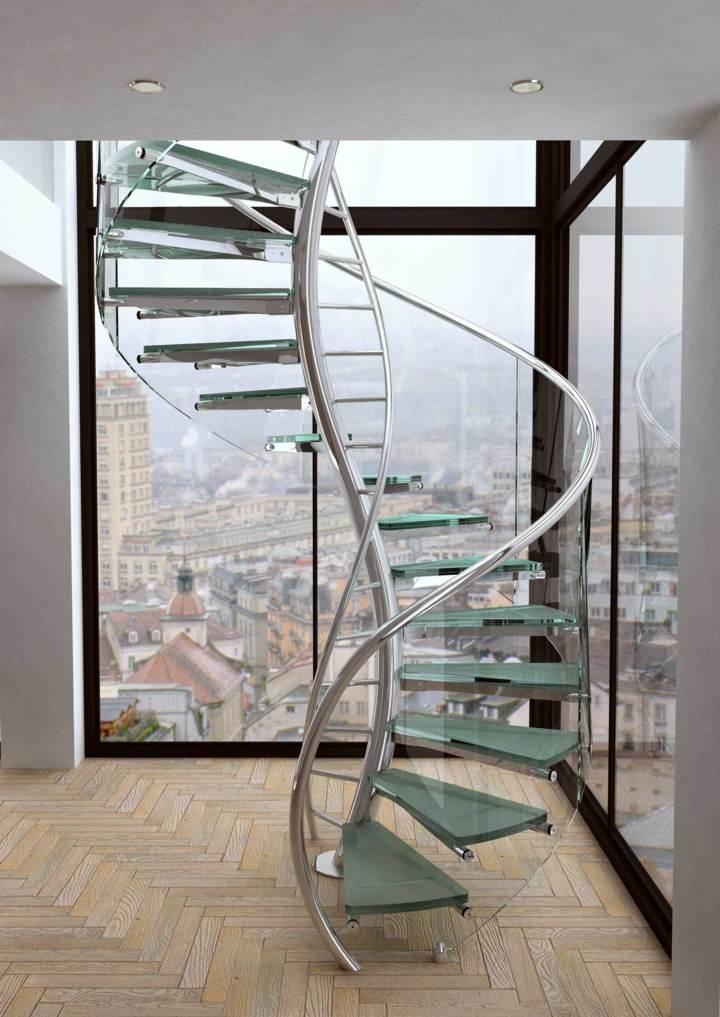 cristal espiral adn escalera sillones