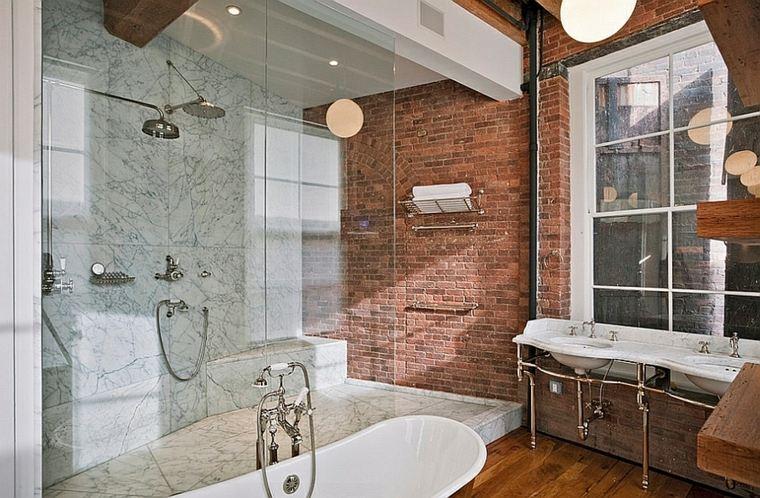 cuarto baño estilo industrial