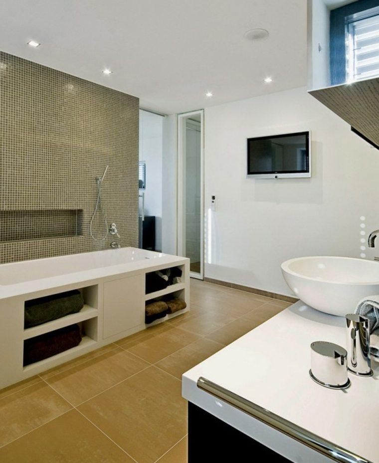 Modelos de cuartos de ba o modernos 42 dise os - Tendencias en cuartos de bano ...