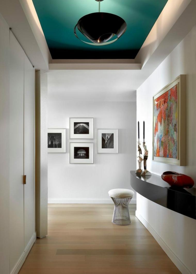 decorar pasillos obras arte