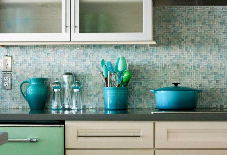 decorar salpicadero azulejos gresite