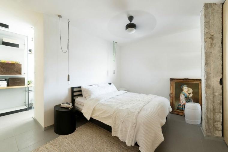 decoración apartamentos diseno moderno dormitorio