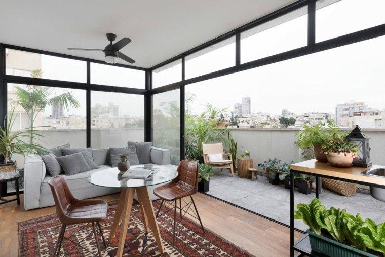 decoración apartamentos diseno moderno espacio abierto ideas