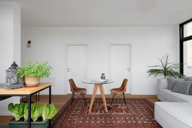 decoración apartamentos diseno moderno salon comedor ideas
