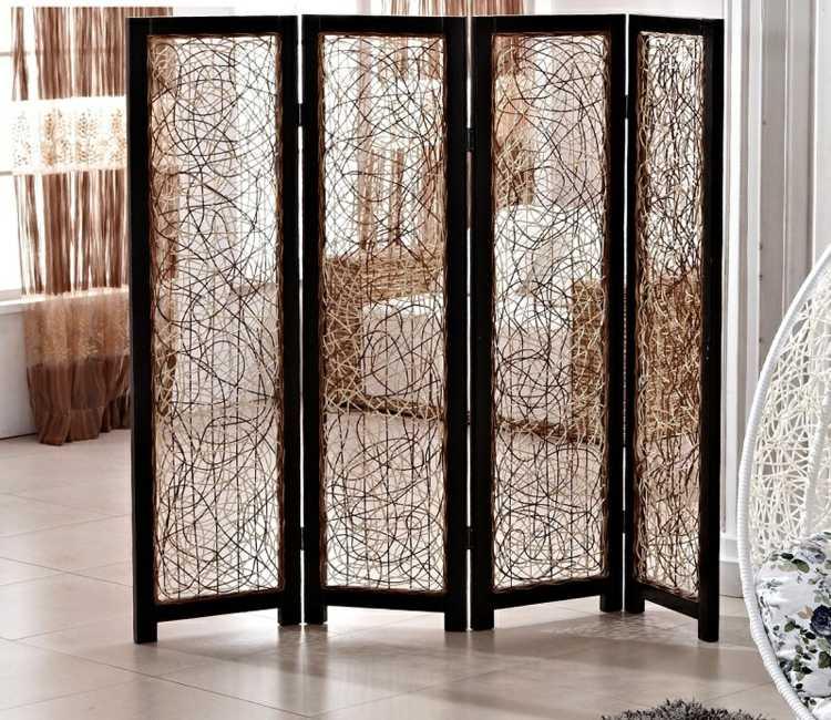 Decoracion biombos de estilos y contrastes impresionantes - Biombos de madera ...