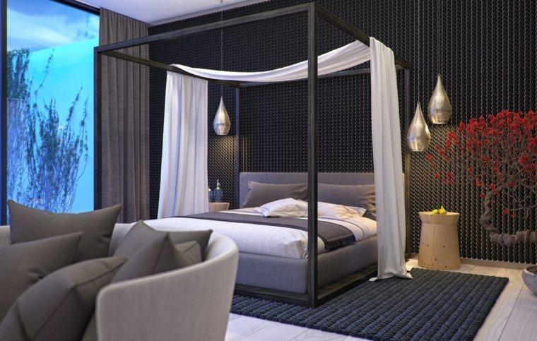 decoración camas de matrimonio dosel anton biytsev ideas