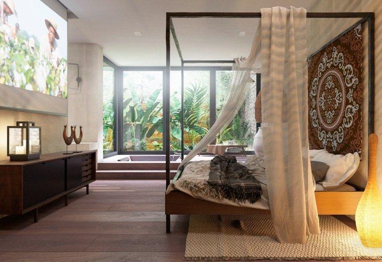 decoración camas de matrimonio dosel e space ideas