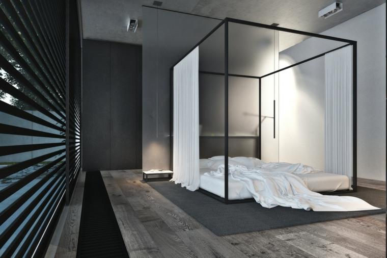 decoración camas de matrimonio dosel igor sirotov ideas