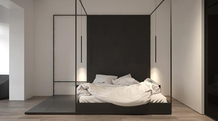decoración camas de matrimonio dosel kdva architects ideas