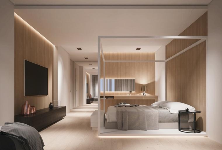 decoración camas de matrimonio dosel kateryna panasik ideas