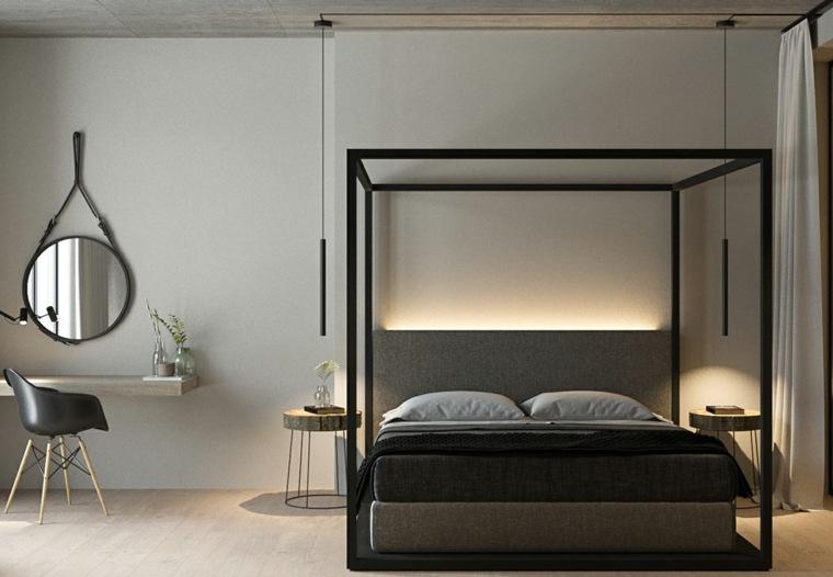 decoración camas de matrimonio dosel nott design ideas