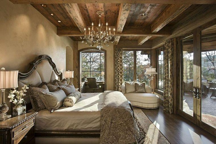decoración casas rurales dormitorios