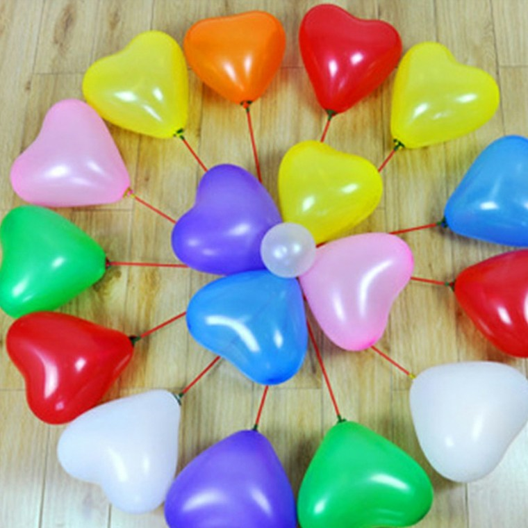 decoración con globos decorar interior