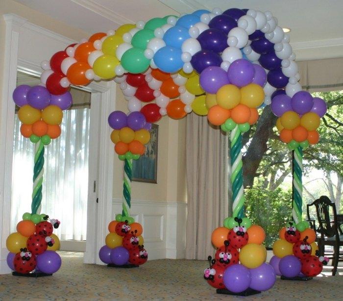 Decoracion con globos ideas especiales y de gran efectividad