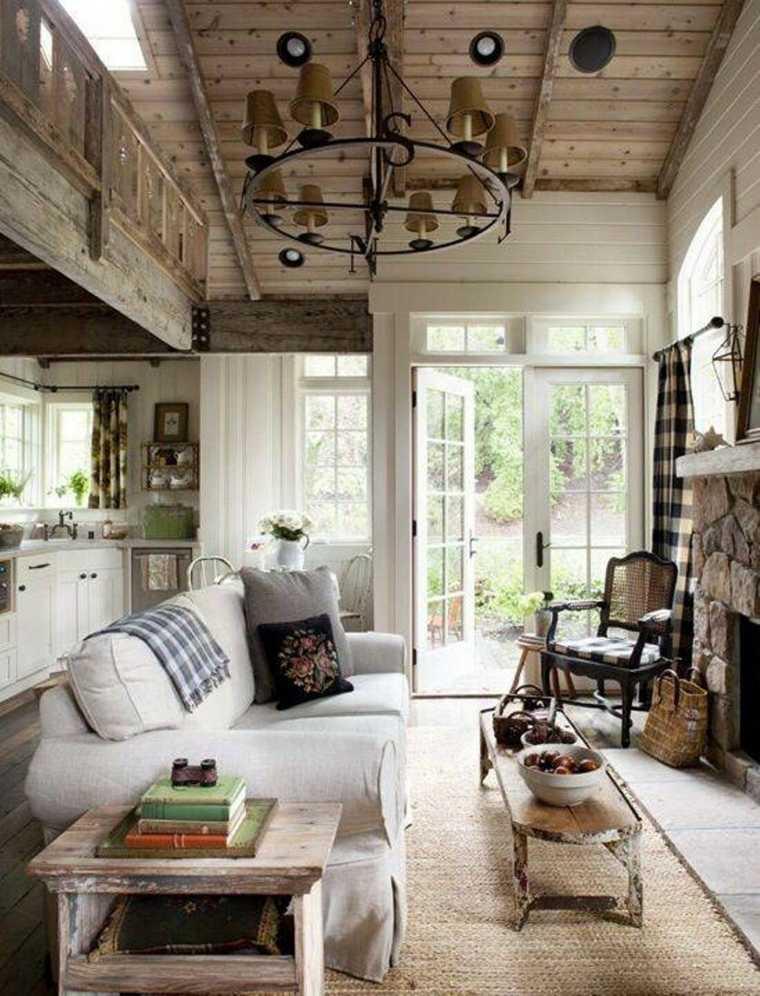decoración de casas rústicas