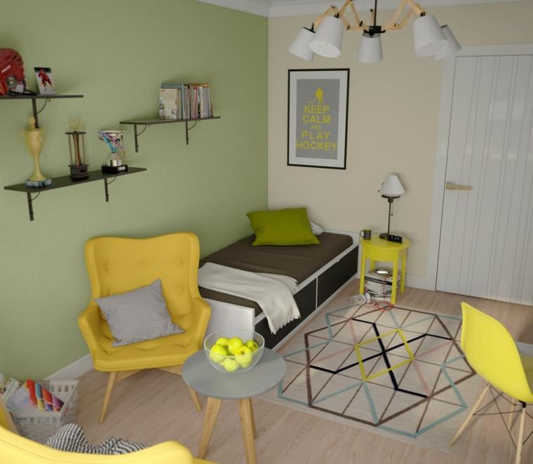 decoración de habitación para ninos cama preciosa diseno ideas