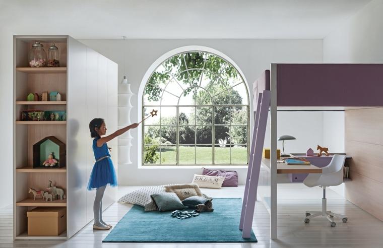 decoración de habitación para ninos chicas diseno ideas