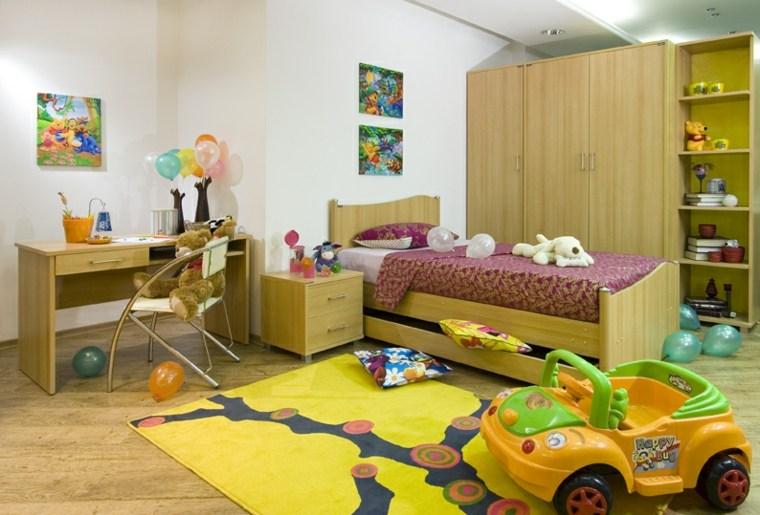 decoración de habitación para ninos colores atractivos ideas