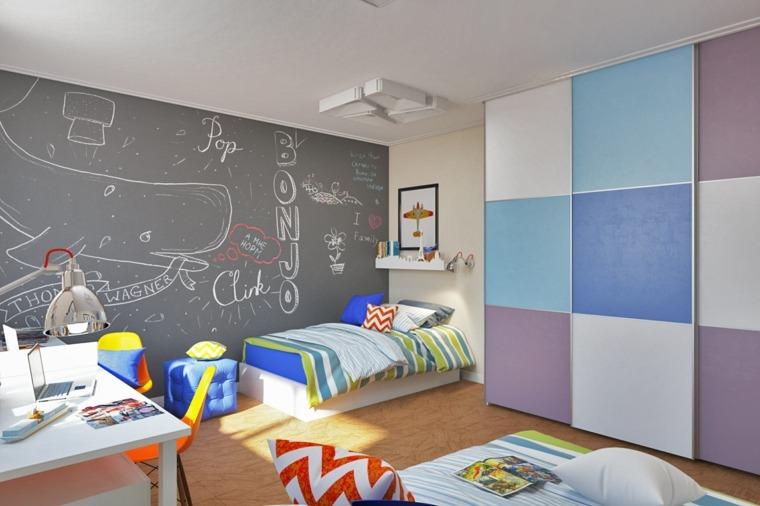 decoracion de habitacion para ninos diseno minimalista ideas