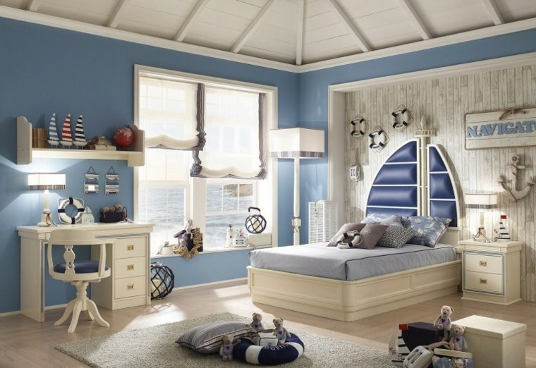 decoración de habitación para ninos muebles clasicos ideas