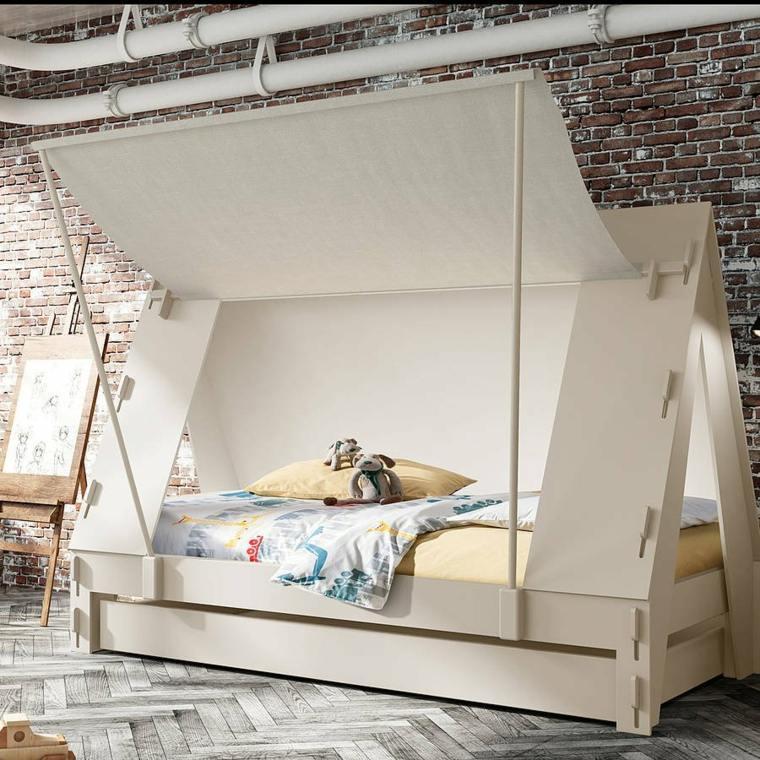 decoracion de habitacionpara ninos opciones cama ideas