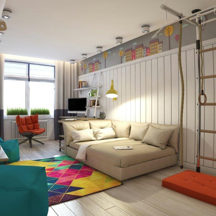 decoracion de habitacion para ninos paredes opciones ideas